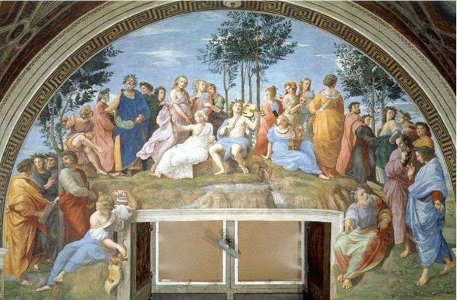 Raphaël célèbre deux femmes libres : Sappho et Hypatie