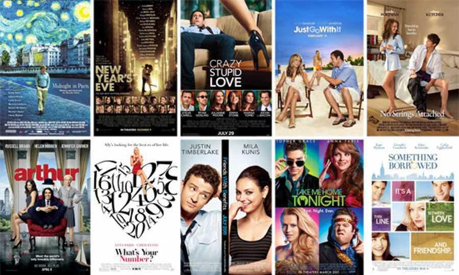 De la romance aux films romantiques