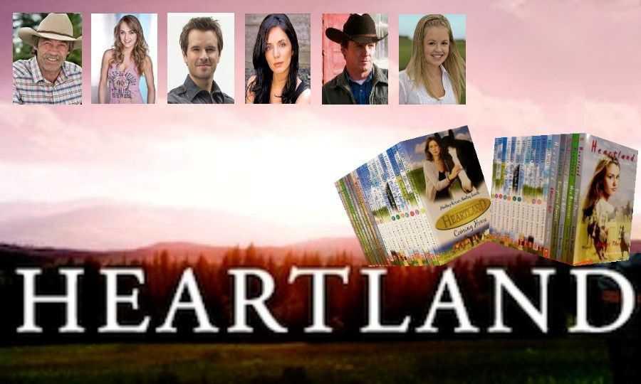 Heartland série canadienne d'une longévité exceptionnelle