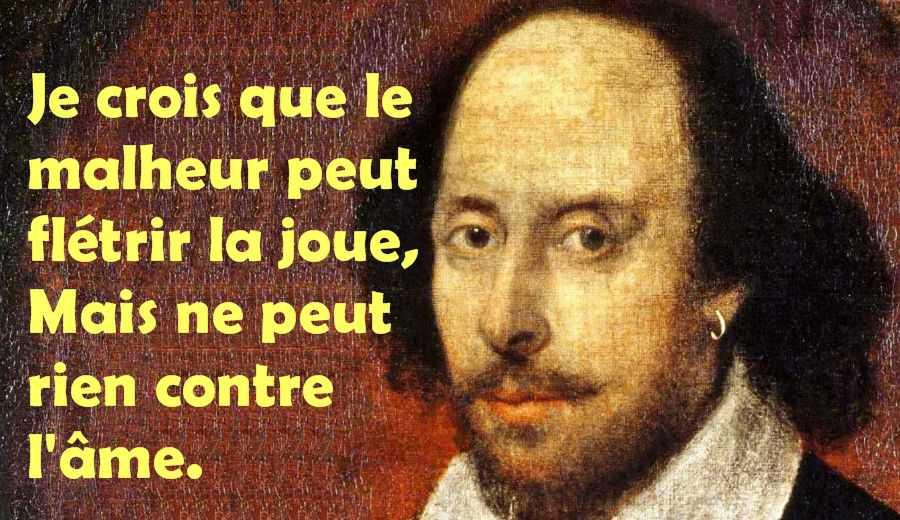 La sagesse de Shakespeare au 21ème siècle
