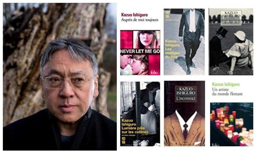 Kazuo Ishiguro : prix Nobel de littérature et de nombreux films