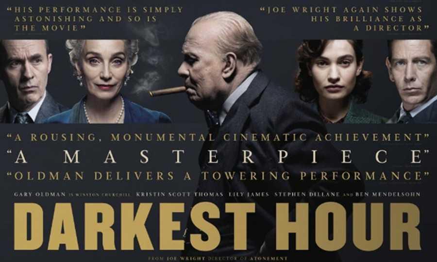 """"""" Les heures sombres """" :  un grand film tout simplement"""