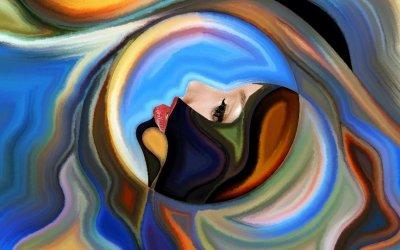 somatisation tableau art abstrait